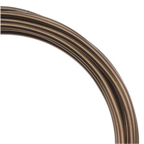 Artistic Wire 12 Gauge Wire, Antique Brass, 10-Feet