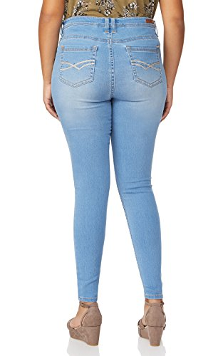 fd0a1d2c62974 WallFlower Women's Juniors Plus Size High Rise Irresistible Denim Jegging