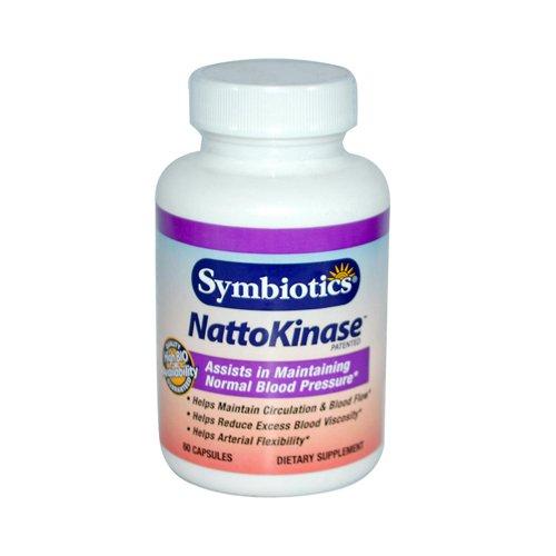 Wholesale Symbiotics NattoKinase - 60 Capsules, [Health Supplements, Vitamins]