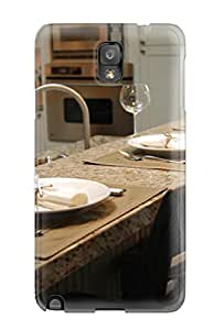 New ZippyDoritEduard Super Strong Gourmet Kitchen Bar With Granite Counters And Tall Stools Tpu Case Cover For Galaxy Note 3