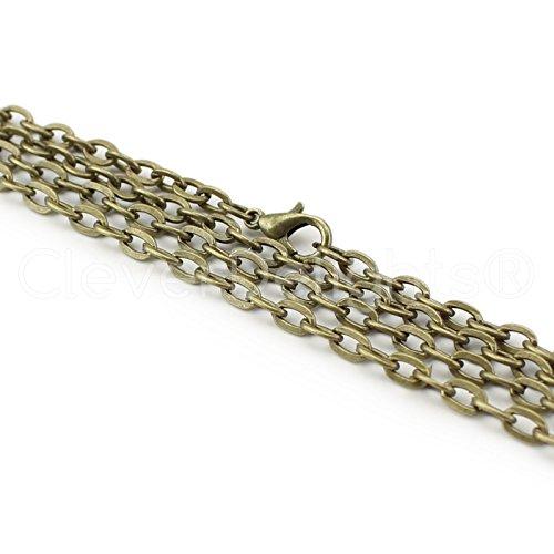 Brass Necklace Chain - 7