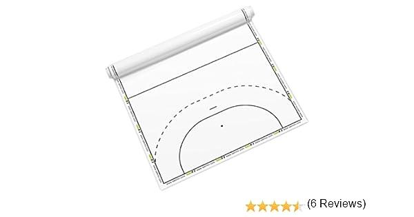 Taktifol balonmano - hojas tácticas para entrenadores - rollo con 25 hojas: Amazon.es: Deportes y aire libre