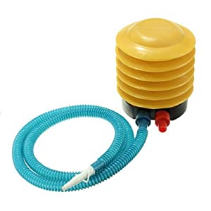 Water & Wood Inflatable Toy Foot Pump Inflator For Air Balloon Yoga Ball Swimming Raft Fish Tank Mattress Inflatable