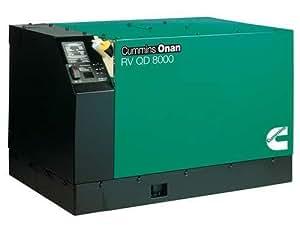 Cummins Onan 8KW 67A Diesel RV QD 8000 Generator 8.0HDKAK-1046