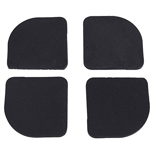 4pcs Stand For A Washing Machine Shock Pads Anti-vibration Pad For Washing Machine Non-slip Mats Refrigerator Multifunctional To Reduce Body Weight And Prolong Life Beauty & Health