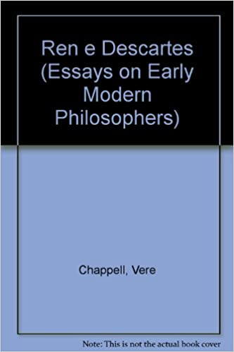 Science Essays Rene Descartes Vls Essays On Early Modern Philosophers Th Edition Argument Essay Thesis also Essay With Thesis Statement Amazoncom Rene Descartes Vls Essays On Early Modern Philosophers  Compare And Contrast Essay Papers