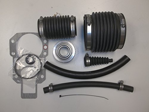 (Alpha One GEN 1 Bellow Transom Seal Repair kit with Gimbal Bearing and bellows )