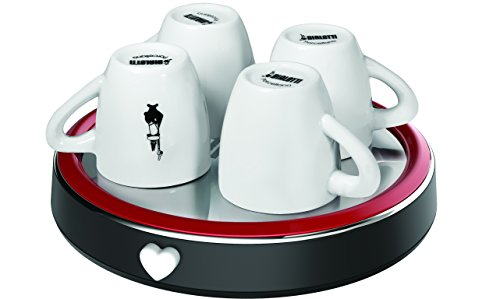 Bialetti Scaldatazzine Rosso, Accessorio macchina del caffè 2 spesavip