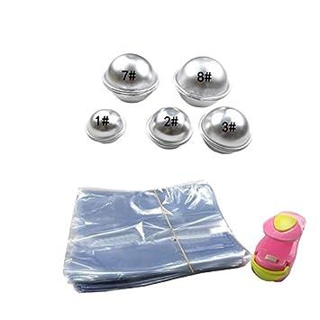 Amazoncom Chocolate Mold Aluminum Alloy Salt Bath Bombs