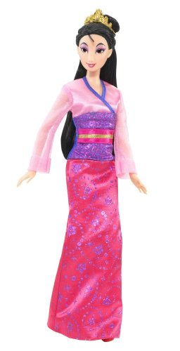 Disney Sparkling Princess Mulan Doll