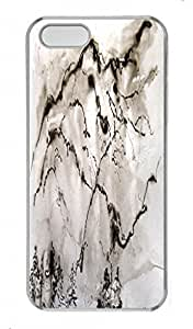 Chinese Ink and wash painting PC Transparent For SamSung Galaxy S4 Phone Case Cover - Snow Mountain