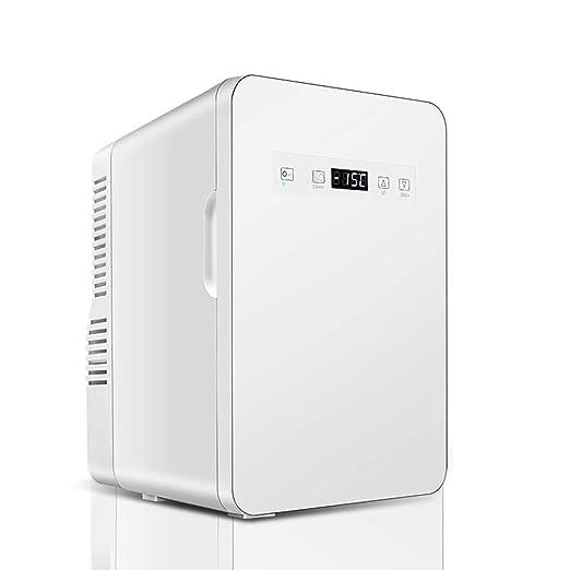 JU FU Mini Nevera Refrigerador del automóvil-22L refrigerador ...