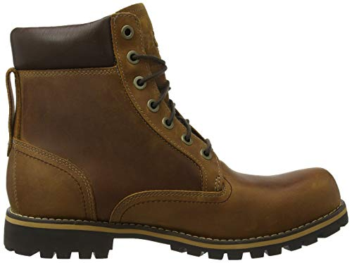 Timberland Men S Earthkeepers Rugged Boot Red Brown 8 5