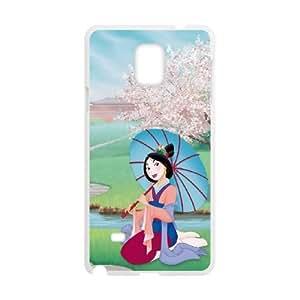Mulan II Samsung Galaxy Note 4 Cell Phone Case White Nmfe