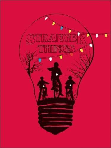 Impresión en metacrilato 80 x 110 cm: Alternative stranger things red version art de Golden Planet Prints: Amazon.es: Hogar