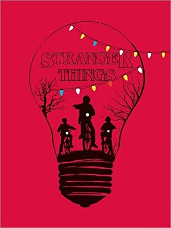 Impresión en metacrilato 80 x 110 cm: Alternative stranger things red version art de Golden Planet Prints: Amazon.es: Hogar