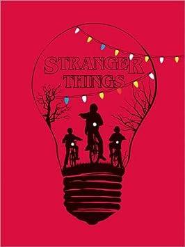 Nouveau Poster Stranger Things de Golden Planet Prints Reproduction Haut de Gamme Poster 30 x 40 cm