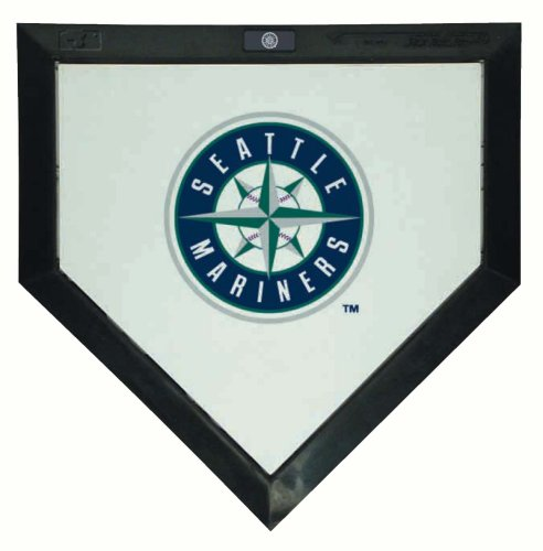 Schutt Hollywood Home Plate - MLB Seattle Mariners Mini Home Plate