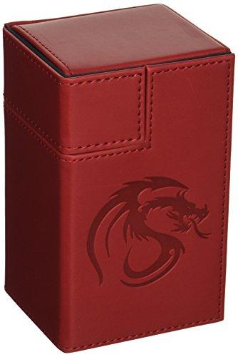 BCW 1-DCLK-LX-RED Gaming Deck Locker, LX Red ()