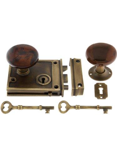 horizontal rim lock set - 8