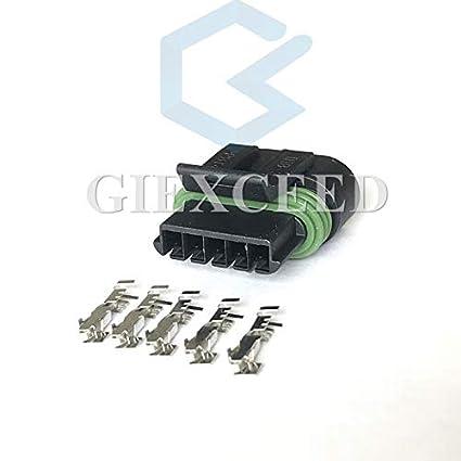 amazon com 5 sets 5 pin delphi gm ls2 ignition coils connectoramazon com 5 sets 5 pin delphi gm ls2 ignition coils connector automotive electrical female plug 12162825 car electronics