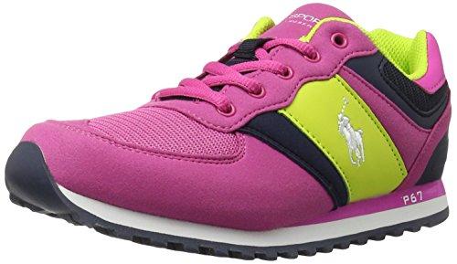 Lauren Kids Slaton Us Little Pinknavy11 Ralph SneakerRegatta Girls' Polo Kid M R3AL4j5
