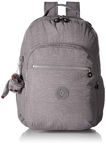 Seoul L Solid Laptop Backpack, Slate Grey