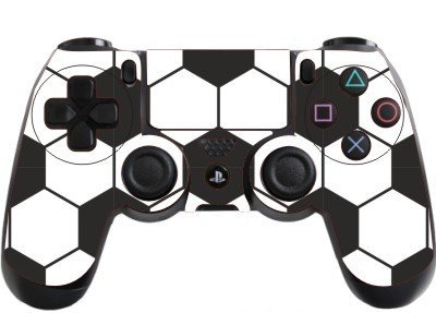 the grafix studio Football Playstation 4 (Ps4) Controller Sticker / Skin / Decal / Ps10