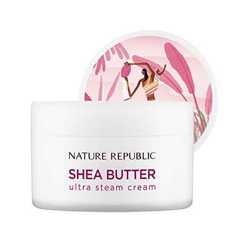Nature Republic Shea Butter Steam Cream, Ultra, 100 Gram