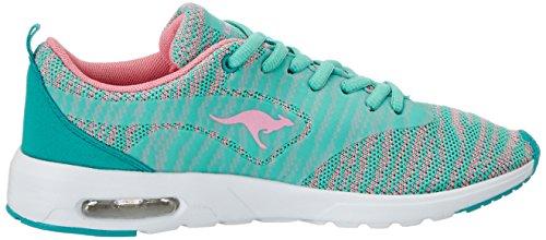 KangaROOS Kangacore Rose 2106 Sneaker Misty K Grün Damen Jade vr57xqwvC