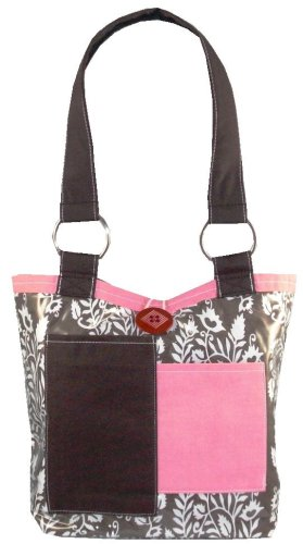 2 Red Hens Hen Chocolate Covered Fabulous Diaper Bag