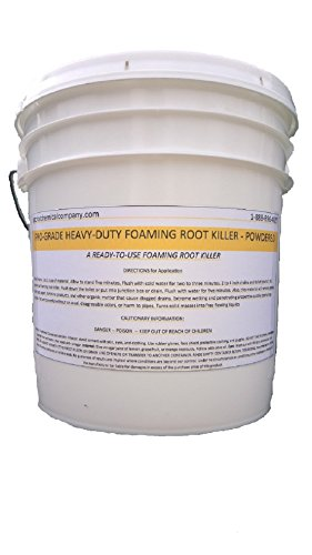 Patriot Chemical Sales 10 Pounds Foaming Root Killer Powder Industrial -
