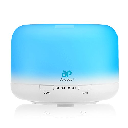 Aropey Essential Oil Diffuser, 160ml Ultrasonic Aromatherapy Oil Diffusers