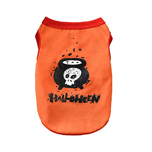 Geetobby New Halloween Pet Dog Vest Clothes Cute Fashion Costume Cool Present -