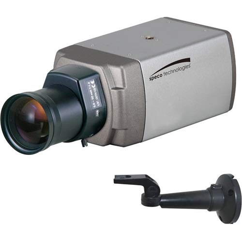 - Speco Technologies O2T7 2 Megapixel Intensifier Indoor Traditional IP Box Camera, CS Lens, Dark Grey Housing,