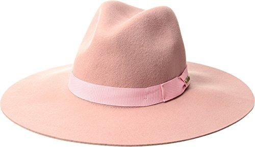 Fedora Hat Pink (San Diego Hat Company Women's Bow Floppy Fedora Hat, Pink, One Size)