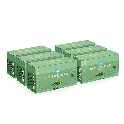 Marca Amazon - Happy Belly Bolsitas de te verde descafeinado (150 bolsitas)