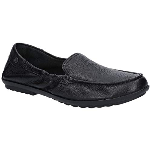 Hush Puppies Womens/Ladies AIDI Moccasin Slip On Shoes (11 US) (Black)