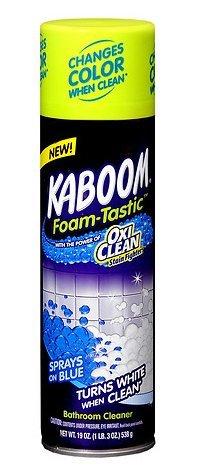 Kaboom foam-tasticカラーChanging Bathroom Cleaner 19.0オンスパックの1 B06VX2Z132