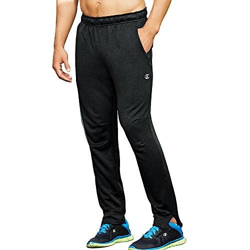 Champion Men's Cross Train Pant, Best Black, Large from Champion