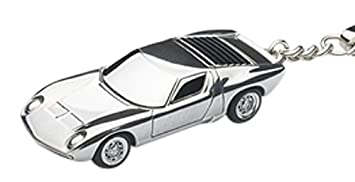 llavero AUTOart escala 1/87 de Lamborghini Miura (aluminio ...