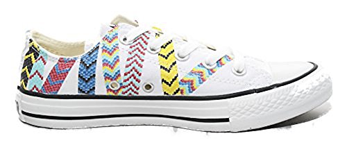 Converse The Chuck Taylor All Star Friendship Bracelet Sneaker,7.5,White