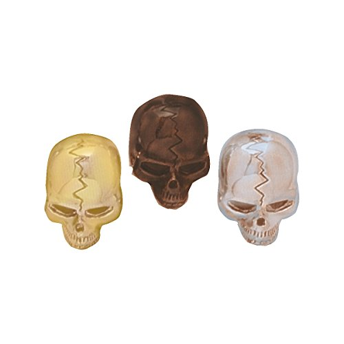 - Q Parts Skull Knobs Gold Single