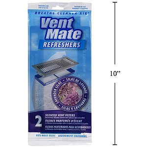 Great 2pc Scented Air Vent Filters   Lavender