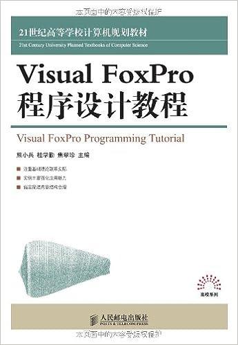 Visual FoxPro Programming Guide(Chinese Edition): Amazon.co.uk ...