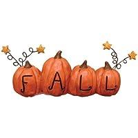 Pumpkins with Stars Fall Resin Block