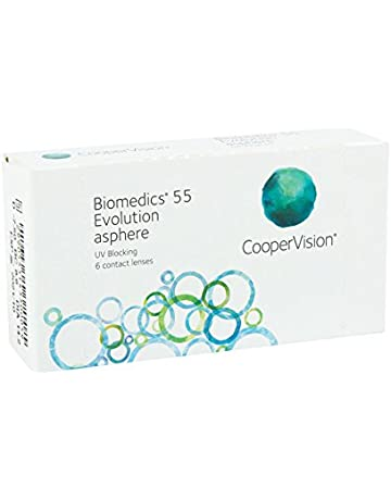 3a97667ad2 Biomedics 55 Uv Evolution - Lentes de contacto esféricas mensuales (R 8.6 /  D 14.2