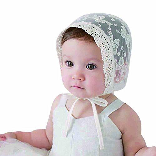 PanDaDa Toddler Stretchy Flower Bonnet
