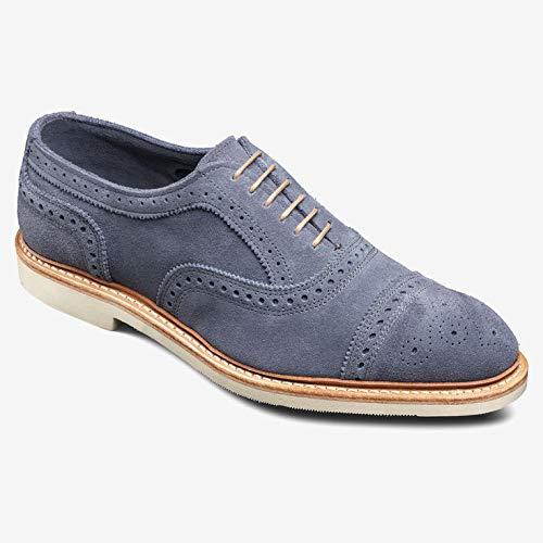 Allen Edmonds Men's Strandmok 2.0 Suede Cap Toe 9.5 D(M) Men 8246 Blue Suede Oxfords Shoes