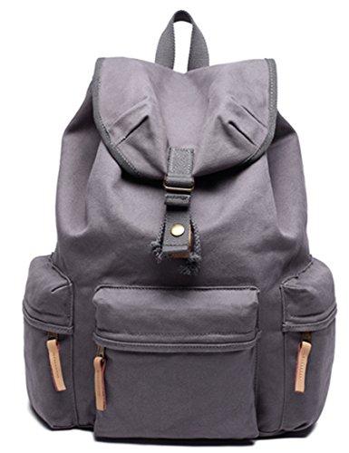 Leaper Waterproof SLR DSLR Camera Backpack Rucksack for Canon Sony Nikon Olympus (Gray)